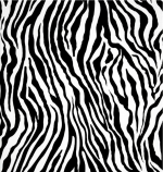 Zebra Skin Print, Mdg Fabrics